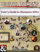 Digital Tokens: NPCs (Volo's Guide to Monsters)