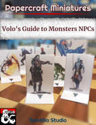 Papercraft Minis: NPCs (Volo's Guide to Monsters)