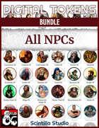 Digital Tokens: All NPCs [BUNDLE]