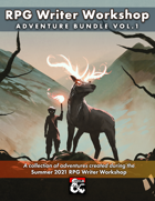 RPG Writer Workshop Summer 2021 Vol. 1 [BUNDLE]