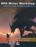 RPG Writer Workshop Summer 2021 Vol. 2 [BUNDLE]