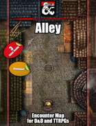 Alley - 3 maps - jpg/mp4 & Fantasy Grounds .mod