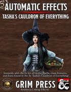 5E Automatic Effects - Tasha's Cauldron of Everything (Fantasy Grounds)
