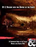 D1-2 Descent into the Depths of the Earth - 5e Conversion Guide with Maps