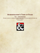 Mordenkainen's Tome of Folks Vol. 1: Shopkeepers