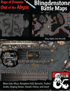 Out of the Abyss Maps: Blingdenstone Battle Maps