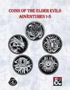 TDG01: Coins of The The Elder Evils Adventures 1-5 [BUNDLE]