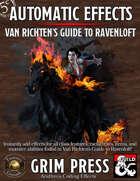 5E Automatic Effects - Van Richten's Guide to Ravenloft (Fantasy Grounds)