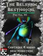 Fey Vol. 01 - Belshaw's Bestiodicals (4 Yokai Inspired Monsters)