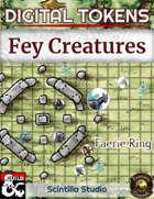 Digital Tokens: Feywild creatures
