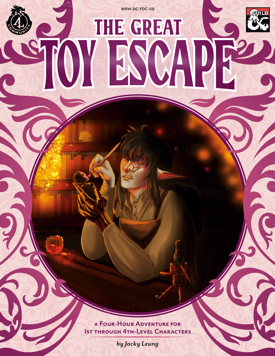 WBW-DC-FDC-08 The Great Toy Escape