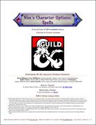 Nim's Character Options - Spells
