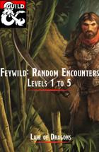 Feywild: Random Encounters