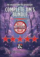 The Wild Beyond the Witchlight Complete DM's Bundle & Map Pack