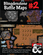 Out of the Abyss Maps: Blingdenstone Volume 2