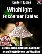 Witchlight Encounter Tables