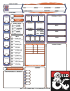 Wild Beyond The Witchlight Theme Character Sheet & Session Journal