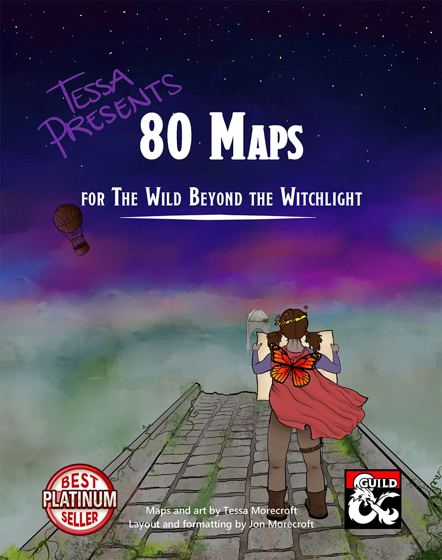 Tessa Presents 80 Maps for The Wild Beyond the Witchlight
