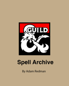 Spells Archive