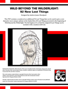 WBtW01: Wild Beyond the Witchlight: 92 New Lost Things
