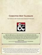Corrupted Mist Talismans