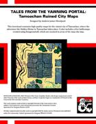 TotYP01: Tamoachan Ruined City Maps