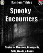 Spooky Encounters - Encounter Tables for Horror or Halloween (Fantasy Grounds)