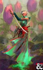 Caminho da Alma Floral - Subclasse de monge