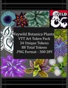 Faewild Botanica Plants VTT Art Token Pack