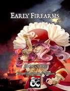 Early Firearms