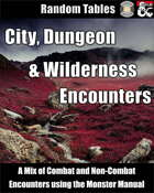 City, Dungeon and Wilderness Encounters using the Monster Manual (Fantasy Grounds)