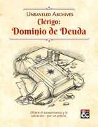Clérigo: Dominio de Deuda