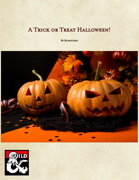 A Trick or Treat Halloween