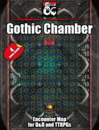 Gothic Chamber - 4 maps - Jpgs & Fantasy Grounds .mod