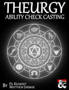 Theurgy - Ability Check Casting