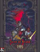 Curse of Strahd: 1995 - A pixel art token set fo CoS