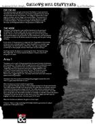 Gallows Hill Graveyard - A Short Halloween Adventure (Levels 2-4)