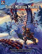 Monster Manual for Turkish Myths #01