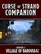 Curse of Strahd Companion 3: The Village of Barovia