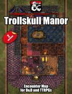 Trollskull Manor and Pub Battlemap w/Fantasy Grounds support - TTRPG Map