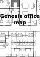 Genesis office map