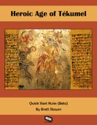 Heroic Age of Tekumel Quickstart (Beta)