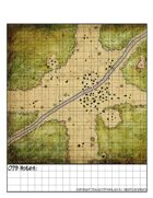 Map a Day 079 Town Setting (with Grid)