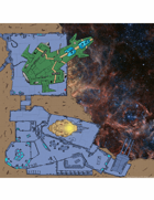 30x30 inch Asteroid Mine with grid