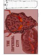 The Infernal City 11 x 17 Map