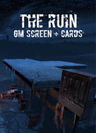 The Ruin D100 - GM Screen and Cards