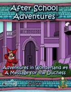 ASA: Alice in Wonderland #4 5E