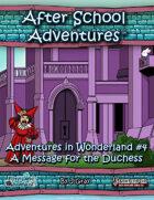 ASA: Alice in Wonderland #4 PF