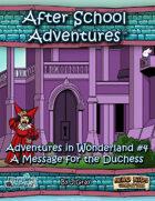 ASA: Alice in Wonderland #4 HK
