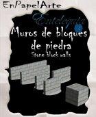 Muros de bloques de piedra (tabloide) Stone block walls